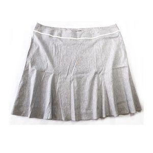 LANE BRYANT Linen Flare Skirt 28
